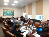 On the participation at international conferences in Moscow