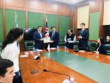 Toshkent xalqaro Vestminster universitetida bo'lib o'tgan davra subati to'g' risida