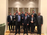 Meeting of the Director of ISRS with foreign diplomats